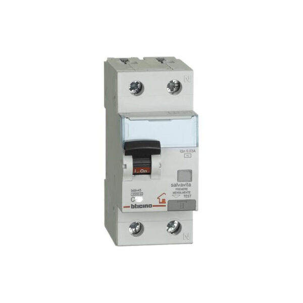 Bticino Magnetotermico salvavita 6A GC8813AC6