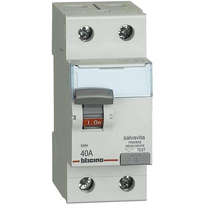 Bticino differenziale puro 40A G723AC40