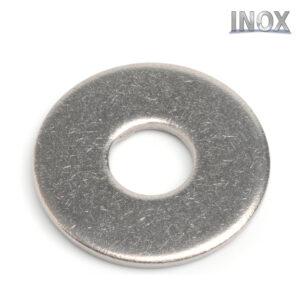 Rondelle piane larghe in acciaio inox