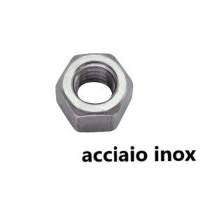 dadi esagonali inox