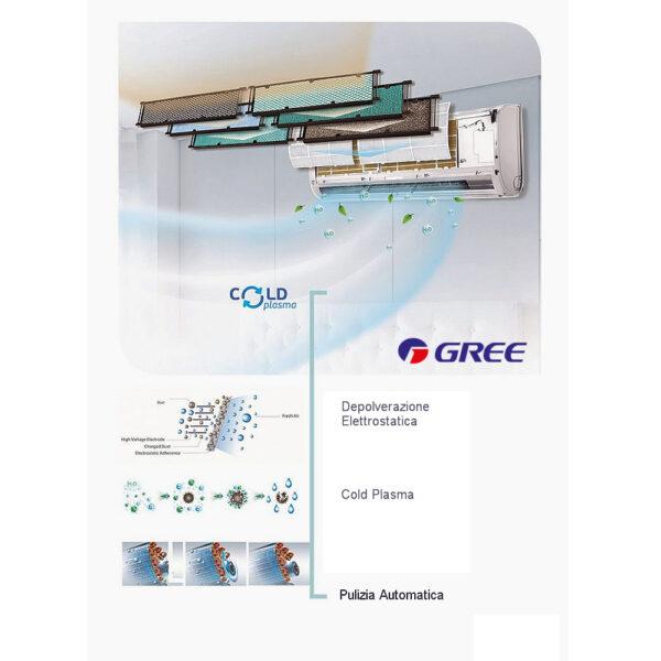 Climatizzatore GREE FAIRY 24000btu INVERTER A++