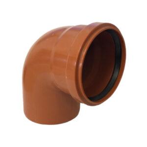 Curva 87° Ø110 PVC Con Guarnizione