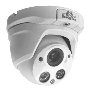 Videocamera 1MP 720P Dome 2,8 - 12 mm IR 30 metri