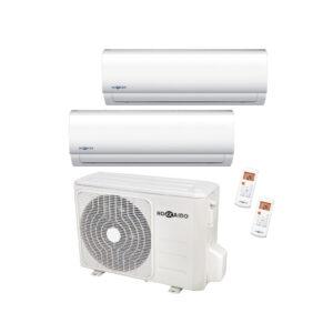 Condizionatore inverter dualsplit 12000+12000BTU HOKKAIDO A++-01