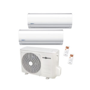 Condizionatore inverter dualsplit 9000+9000BTU HOKKAIDO A++-01