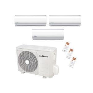 Condizionatore inverter trialsplit 9000+12000+12000BTU HOKKAIDO A++-01
