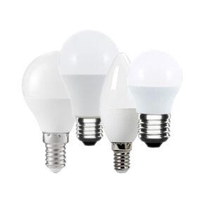 Set lampadine LED E27 E14 bianco caldo
