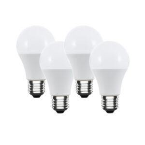 Set lampadine LED E27 a goccia bianco caldo