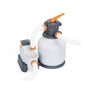 Pompa Per Piscina Con Filtro A Sabbia Da 9800 LH
