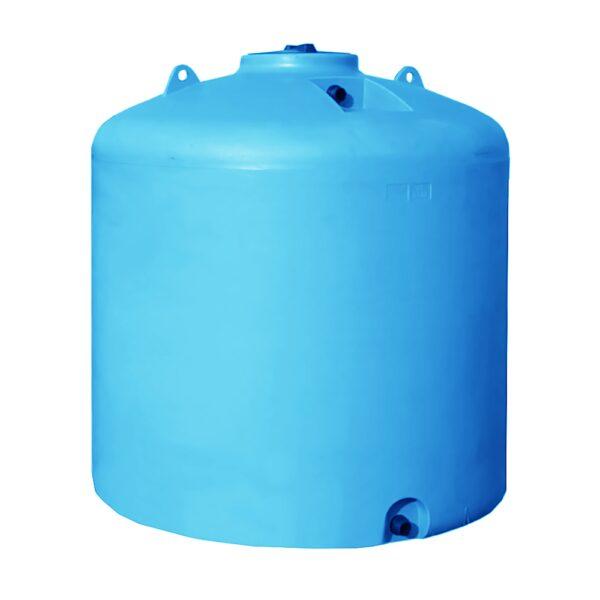 Serbatoio 5000 Litri Acqua Potabile Cilindrico Verticale
