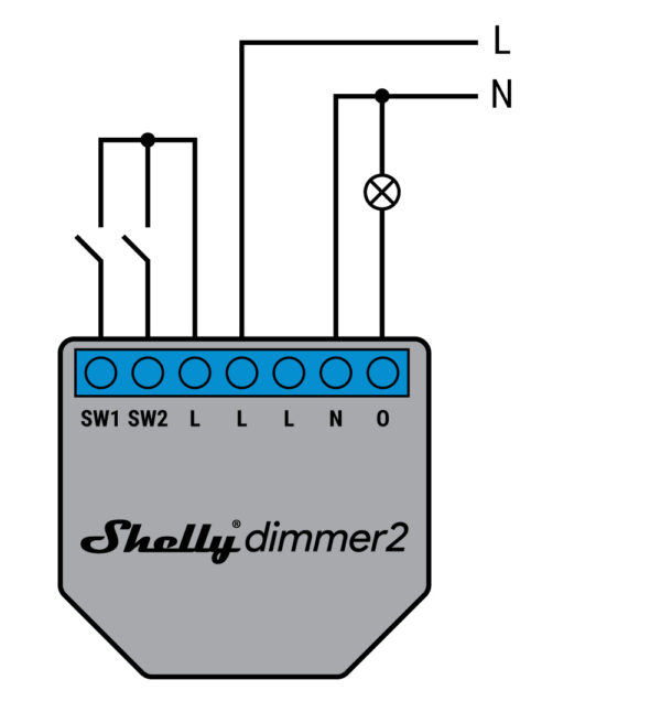 SHELLY DIMMER 2